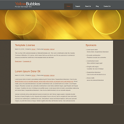 yellowbubbles_template_2251